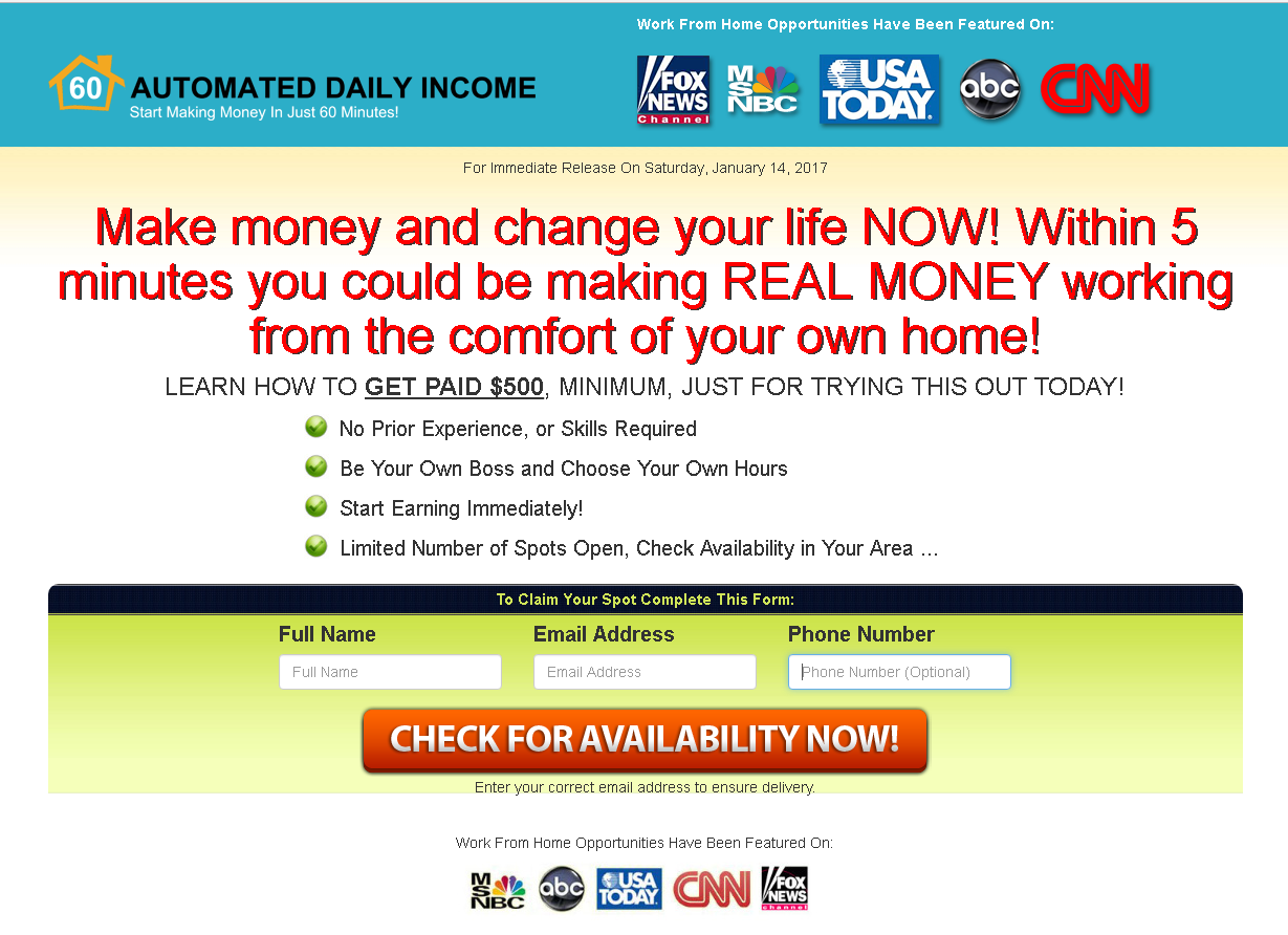 Is Automated Daily Income A Scam My Review Family Time