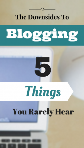 Downsides to Blogging