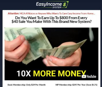 Easy Income System