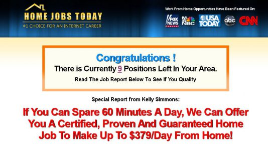 Is Home Jobs Today A Scam