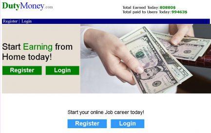 Dutymoney.com Scam Review