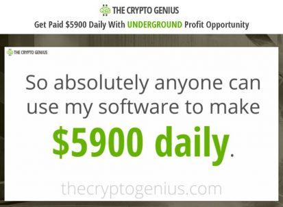 the crypto genius