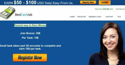 Best Cash Job Scam Review