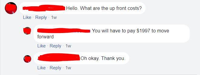 My Ecom Club Costs