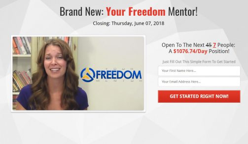 Your Freedom Mentor Scam Review