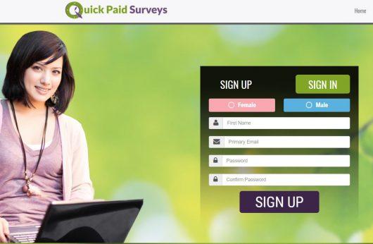 Quick Paid Surveys Scam Review
