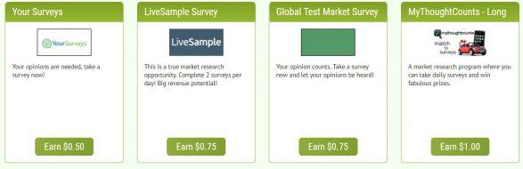 Quick Paid Surveys Surveys