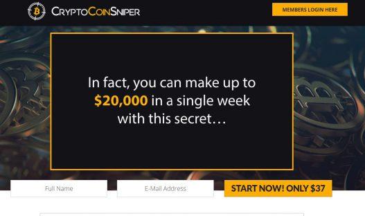 Crypto Coin Sniper Scam Review