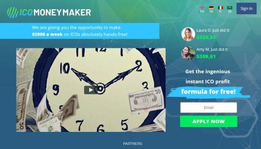 ICO Money Maker Scam Review