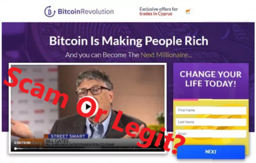 Bitcoin Revolution Scam Review