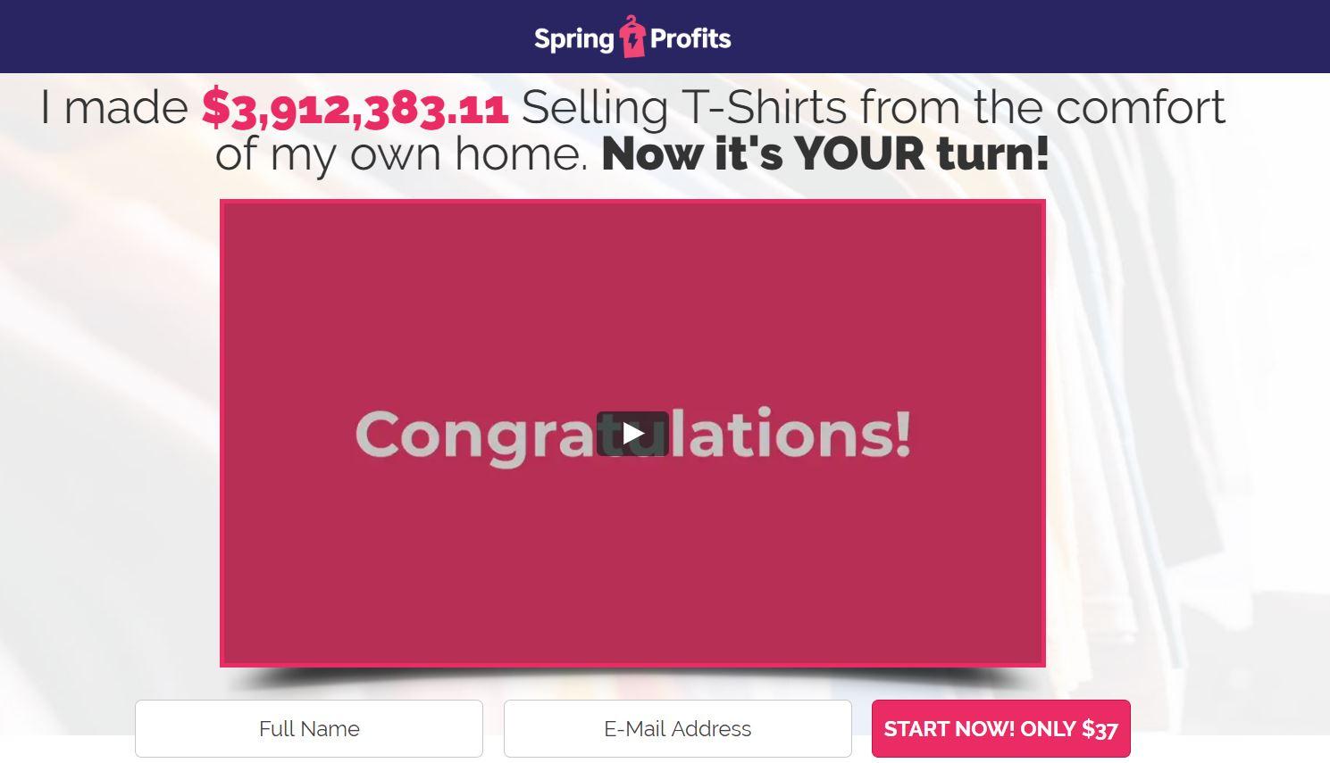 Spring Profits Scam Review
