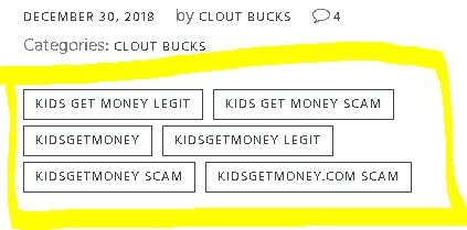 Clout Bucks Kids Get Money Tags