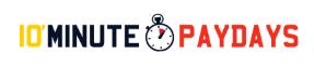 10 Minute Paydays Logo