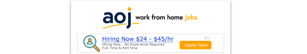 AOJ Wprl From Home Job Scam Review