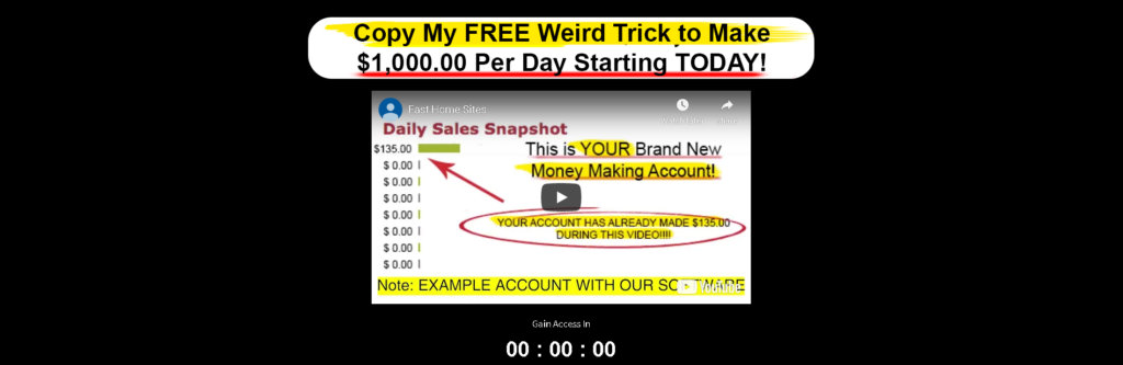 Fast Home Sites Scam Review