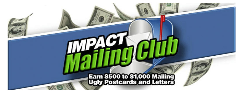 Impact Mailing Club Scam Review
