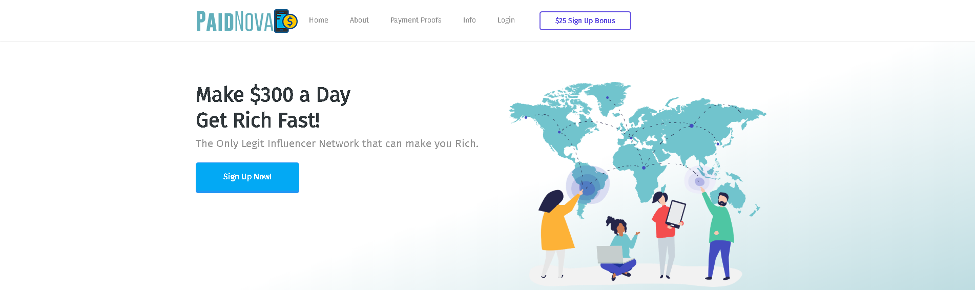 PaidNove Scam Review